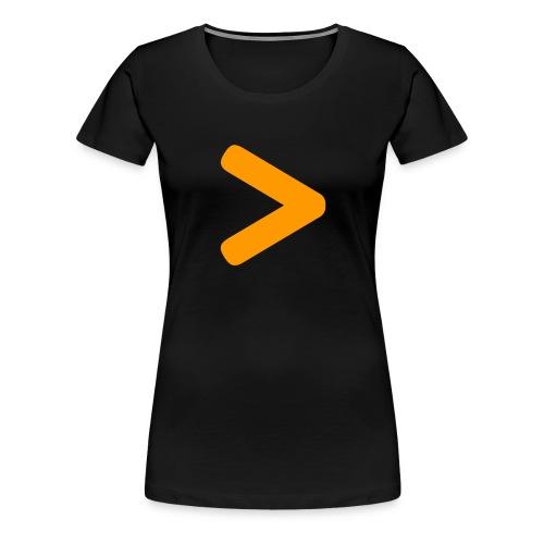 Secret Logo - Naisten premium t-paita
