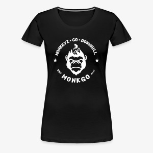 MonkGo Circle - Frauen Premium T-Shirt