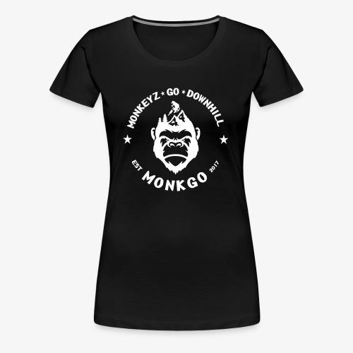 MonkGo Circle - Frauen Premium T-Shirt