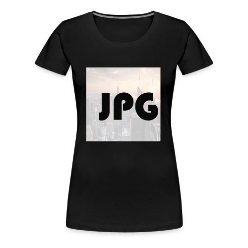 Jop play's games - Vrouwen Premium T-shirt
