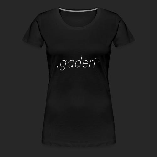 .gaderF - Premium-T-shirt dam