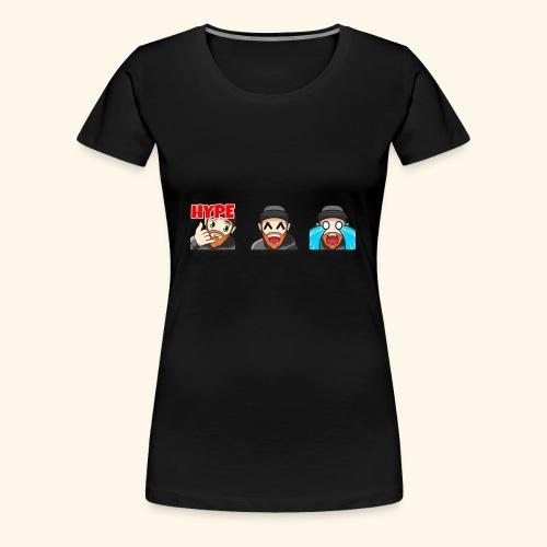 3Emotes - Women's Premium T-Shirt