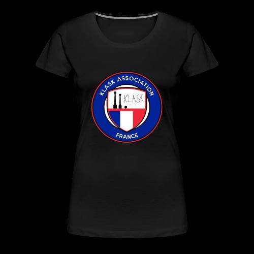 logo klask france 9 - T-shirt Premium Femme