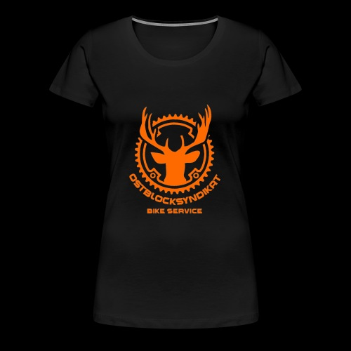 LOGO Orange - Frauen Premium T-Shirt