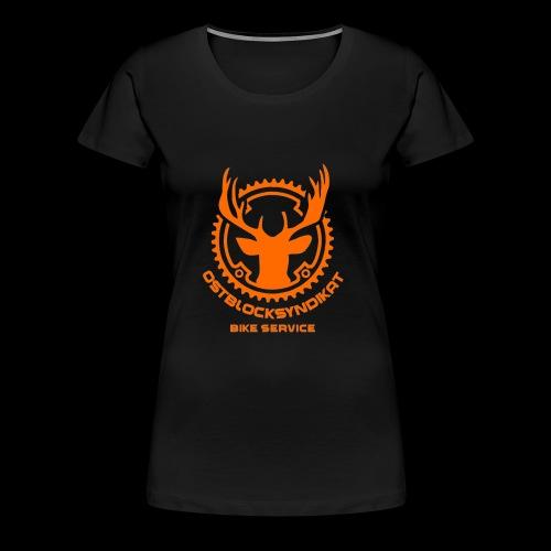 LOGO Orange - Frauen Premium T-Shirt