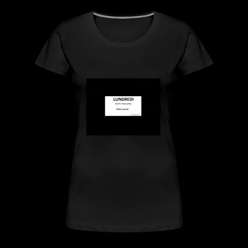 Jeu de mots - T-shirt Premium Femme