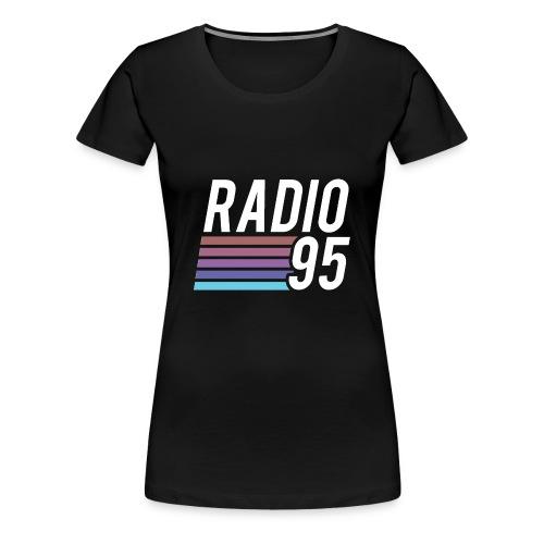 La t-shirt di Radio95! - Maglietta Premium da donna