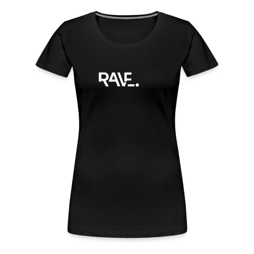 RAVE ClothingWhiteLogo - Women's Premium T-Shirt