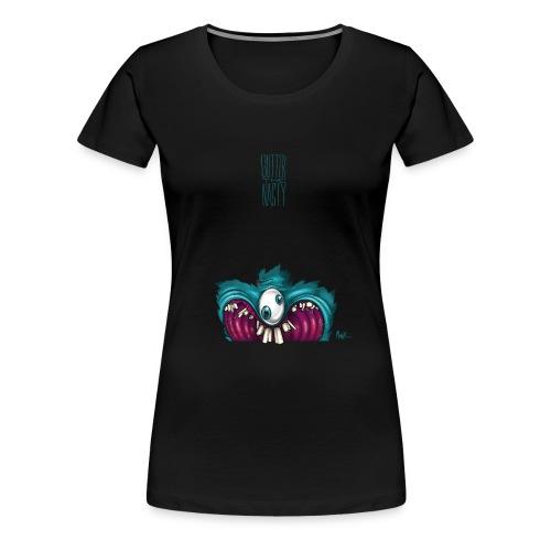 OneEyeTwoPupil [00110101] - Women's Premium T-Shirt