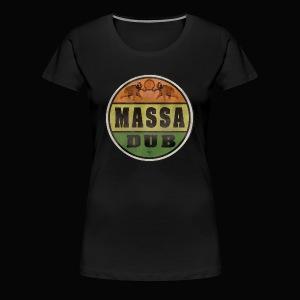 Logo de Massa Dub - T-shirt Premium Femme
