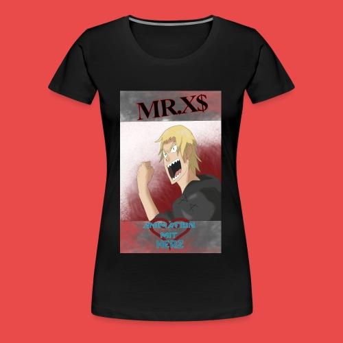 MR.xDOLLA Animation mit Herz - Frauen Premium T-Shirt