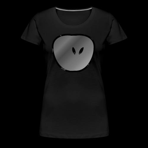 apple dark - Frauen Premium T-Shirt