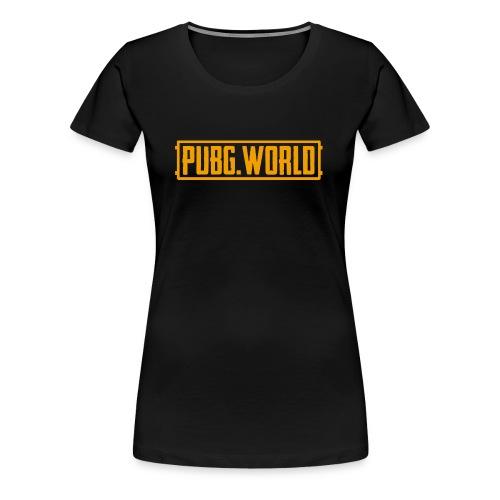 Offizielles PUBG.WORLD Logo - Frauen Premium T-Shirt
