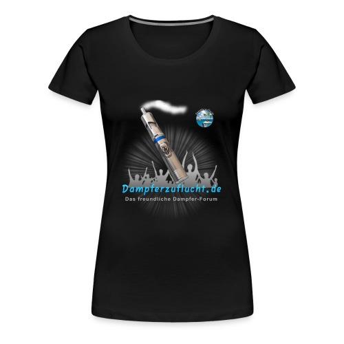 Dampferzuflucht - Frauen Premium T-Shirt