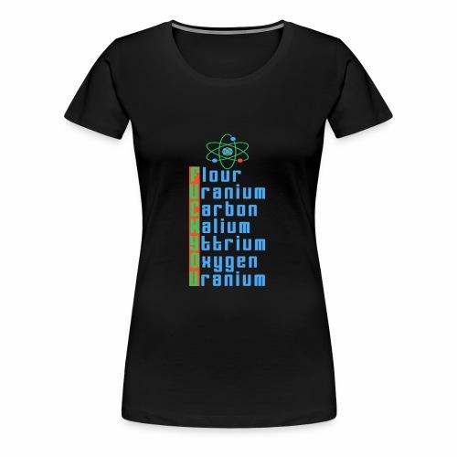 F.U.C.K. Y.O.U. - Frauen Premium T-Shirt