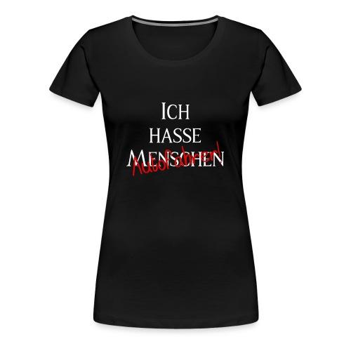 Ich hasse Menschen - Autofahrer Editon - Frauen Premium T-Shirt
