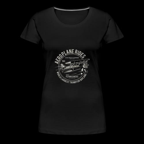 Aeroplane Ride - Frauen Premium T-Shirt