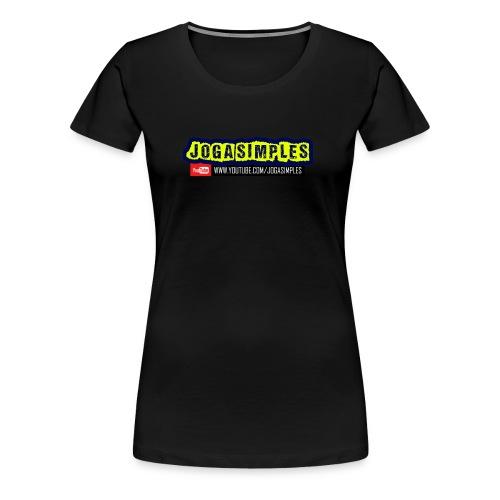 JOGA SIMPLES - Women's Premium T-Shirt