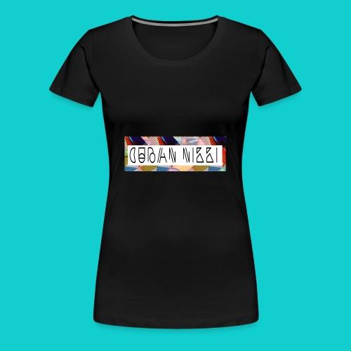 Cuban Nikki Logo - Women's Premium T-Shirt