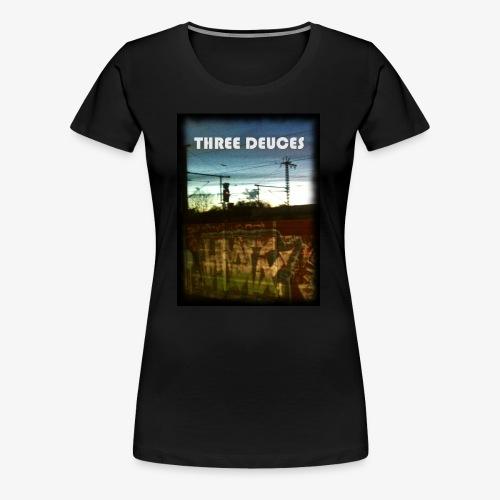 THREE DEUCES 001 - Frauen Premium T-Shirt