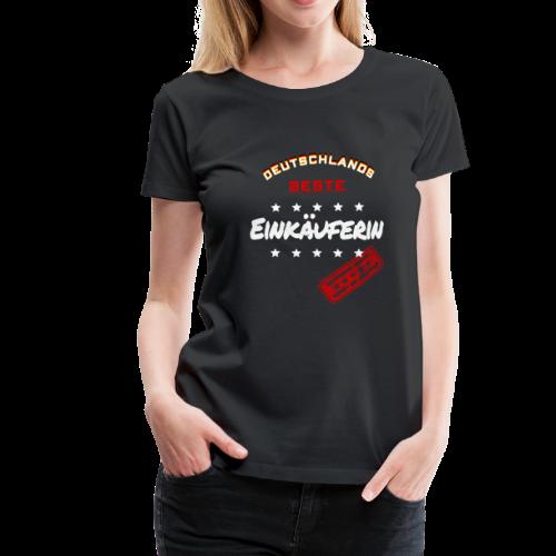 Deutschlands Beste Einkäuferin Weihnachtsgeschenk - Frauen Premium T-Shirt