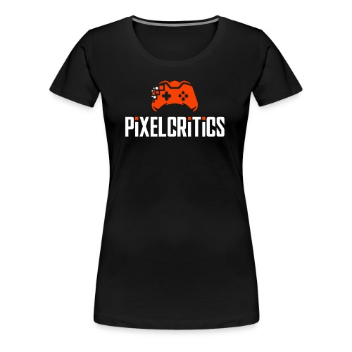 PixelCritics Logo Original - Frauen Premium T-Shirt