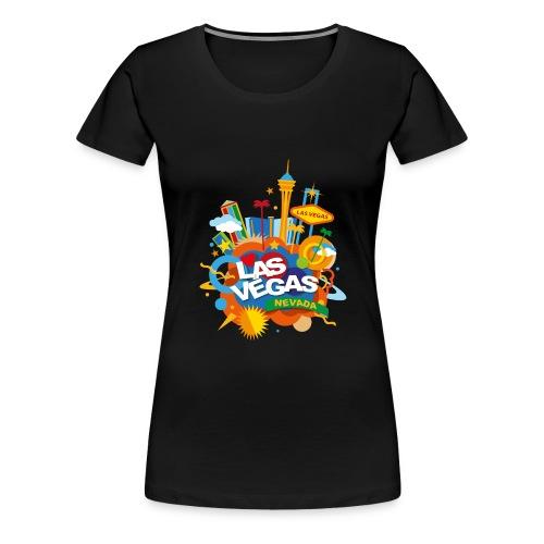 Las Vegas - Maglietta Premium da donna