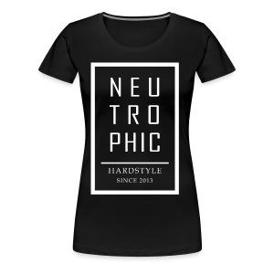 Neutrophic Text Frame - Premium-T-shirt dam