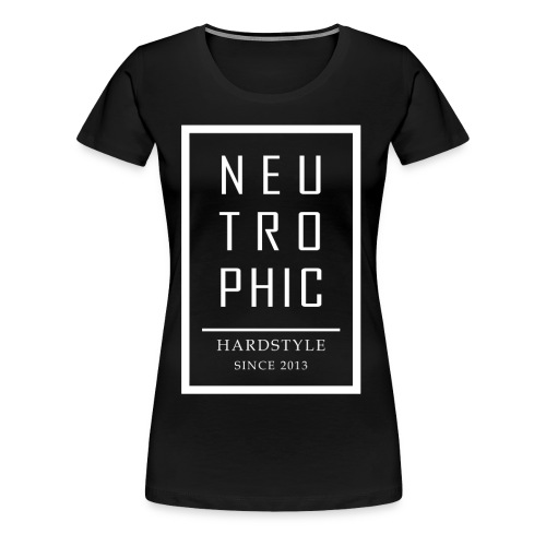 Neutrophic Text Frame - Premium-T-shirt dam