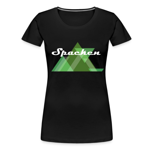 Spacken.net Design #1 - Frauen Premium T-Shirt