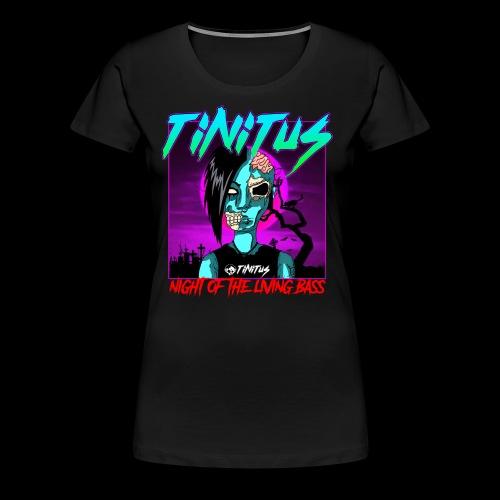 night of the living bass - Frauen Premium T-Shirt