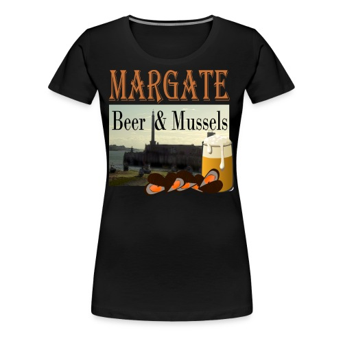 Beer and Mussels - Women's Premium T-Shirt