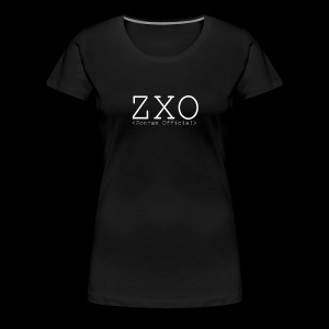 ZXO white - Women's Premium T-Shirt