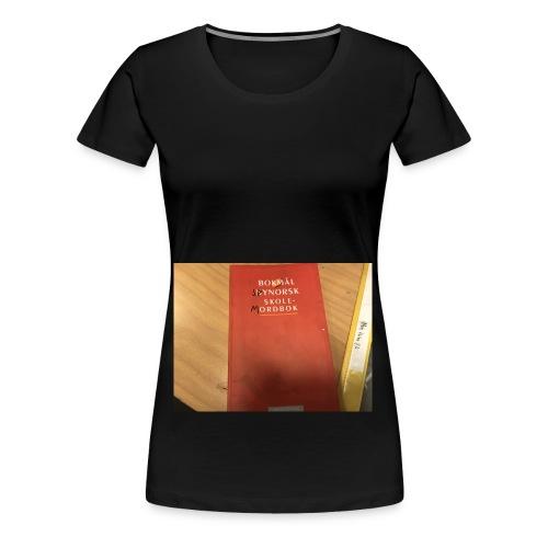 Sannheten om ny norsk - Premium T-skjorte for kvinner