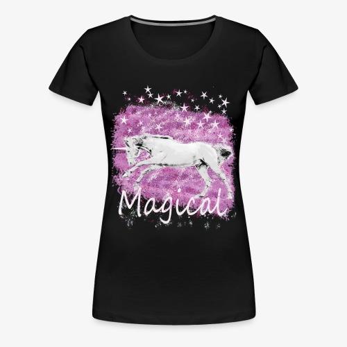 Unicorn Birthday Gift T Shirt for magical girls! - Women's Premium T-Shirt