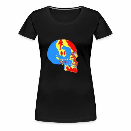Skull head - T-shirt Premium Femme