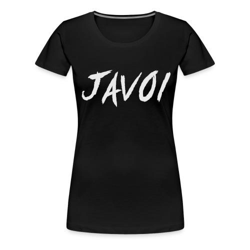 JAVOI graffiti text - Women's Premium T-Shirt