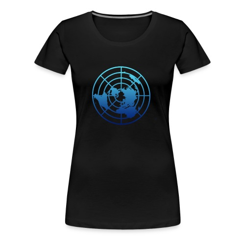 Logo Tierra Plana - Camiseta premium mujer