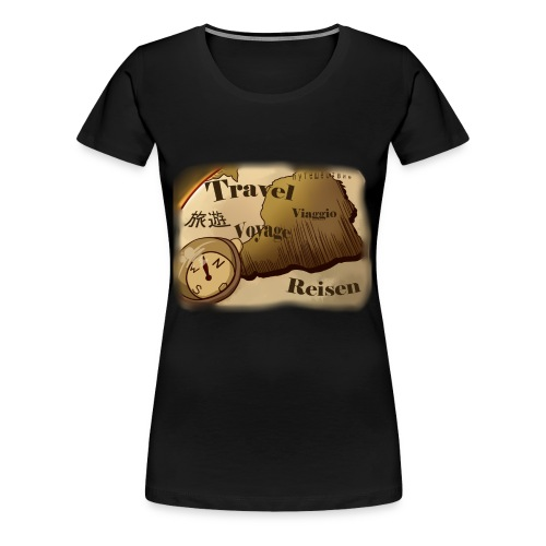 Travel | Design - Frauen Premium T-Shirt