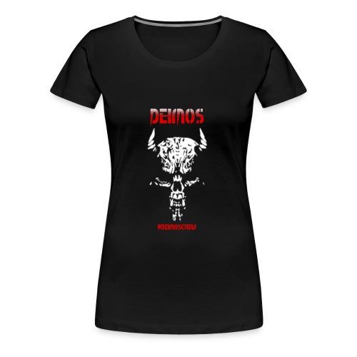 Deimos und Deimoscrew mit Skull - Frauen Premium T-Shirt