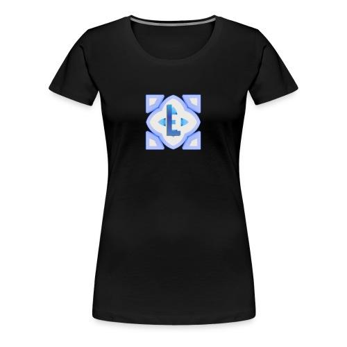 The lanije.com logo - Women's Premium T-Shirt