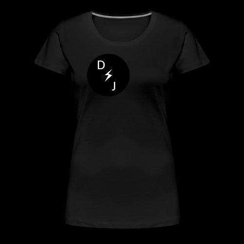 DJ - T-shirt Premium Femme