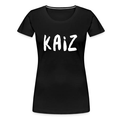 KAIZ LOGO 1 - Maglietta Premium da donna