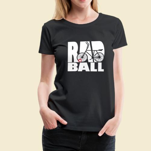 Radball | Typo - Frauen Premium T-Shirt