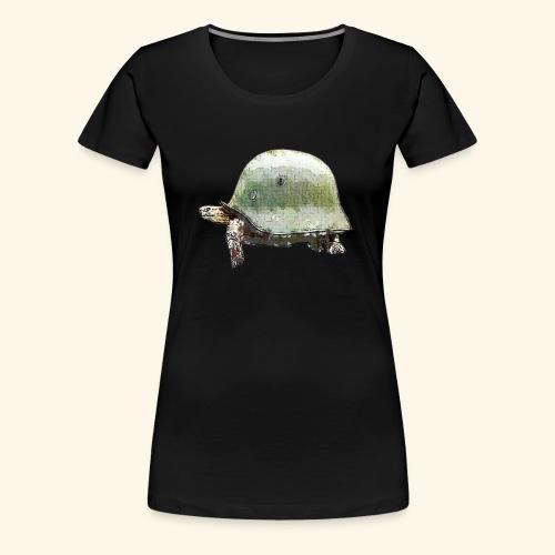 TORTUGA CASCO MILITAR - Camiseta premium mujer