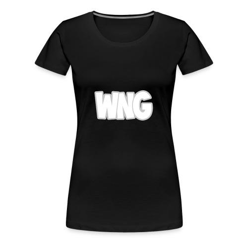 Vrouwen Sweater (Logo Groot, Borst) - Vrouwen Premium T-shirt