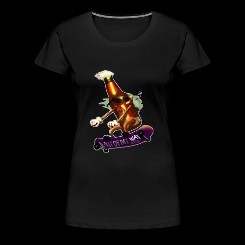 Skatepunk beer - Maglietta Premium da donna