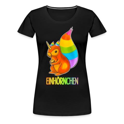 Einhörnchen - Frauen Premium T-Shirt