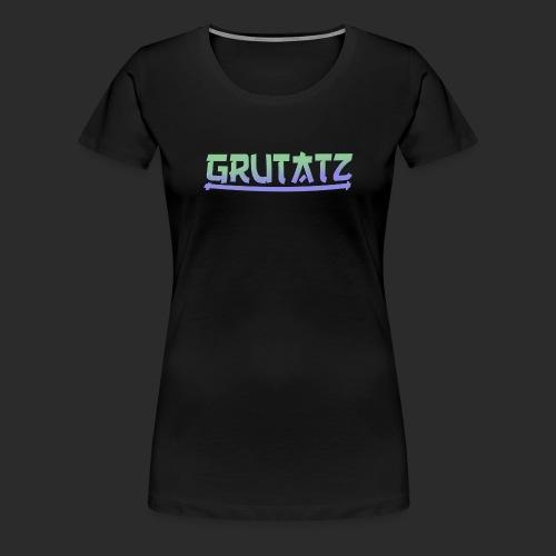 Grutatz 3 - Frauen Premium T-Shirt