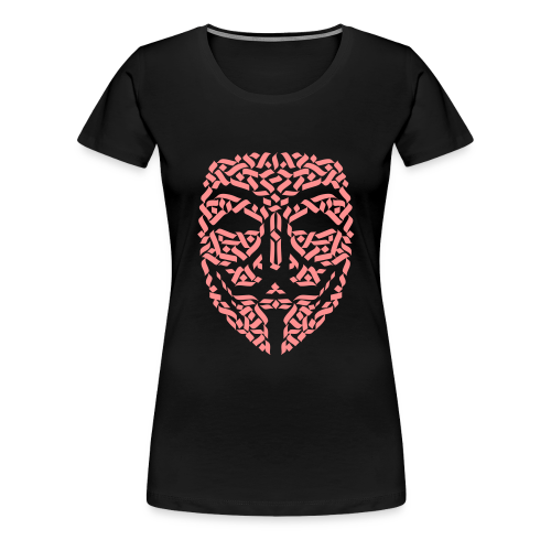 Anonymous Hacker - Frauen Premium T-Shirt